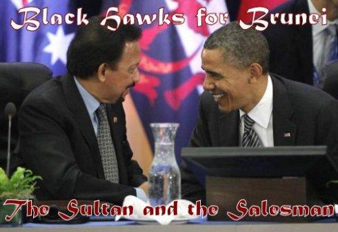 United Technologies: Black Hawks for Brunei & Billions from a Boondoggle