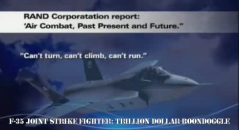 F-35 Joint Strike Fighter: A One Trillion Dollar Boondoggle