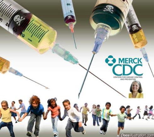 Merck CDC Gerberding Gardasil Vaccine Scam